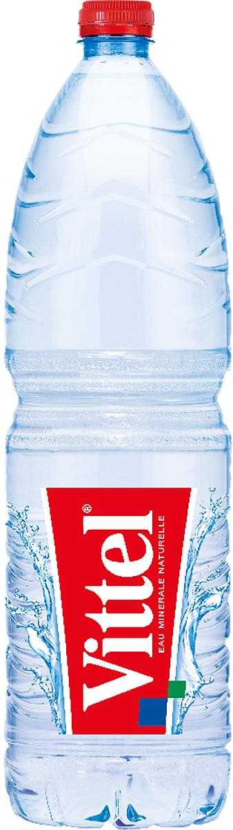 Vittel минеральная негазированная вода, 1,5 л