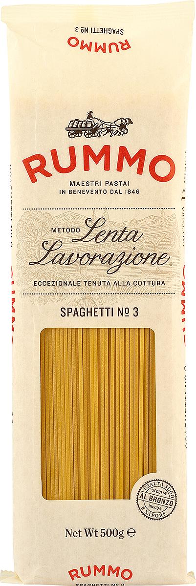 Rummo Спагетти № 3, 500 г