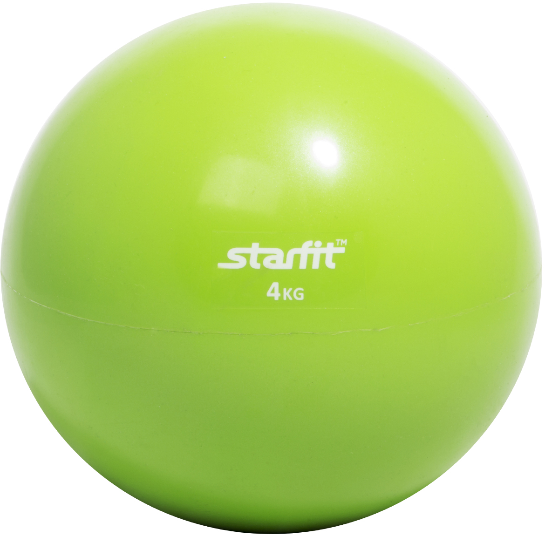 Медицинбол Star Fit GB-703, цвет: зеленый, 4 кг