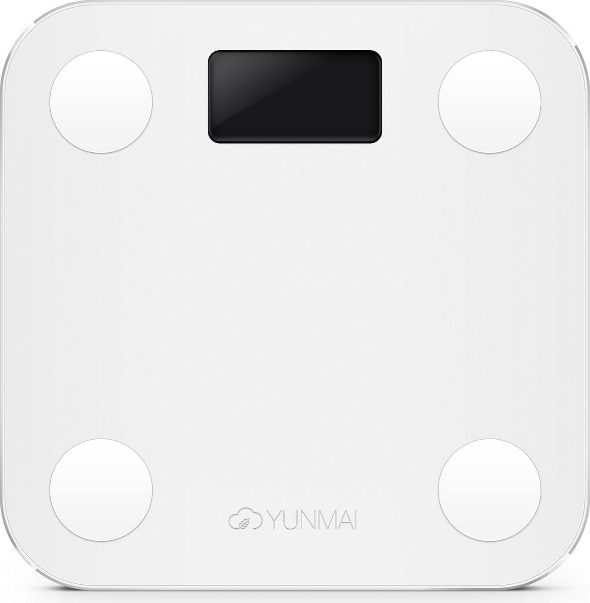 цена Yunmai Mini, White весы напольные онлайн в 2017 году