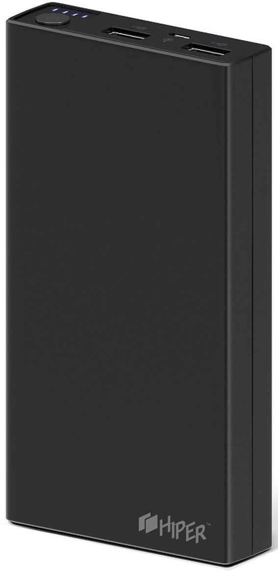Внешний аккумулятор HIPER RP15000 (15000 мАч), Black внутренний аккумулятор 15000 мач hiper rp15000 белый