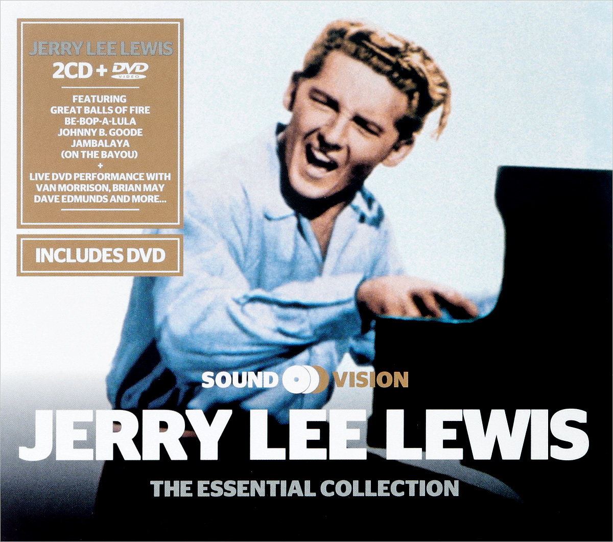 Джерри Ли Льюис Jerry Lee Lewis. The Essential Collection (2 CD + DVD) рики нельсон ricky nelson whole lotta shakin goin on