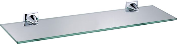 Полка для ванной комнаты Grampus Ocean, цвет: хром полка для ванной комнаты hiba