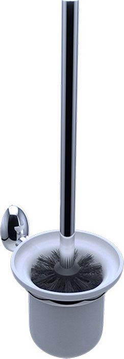 Ершик для туалета Grampus Briz, цвет: хром бумагодержатель grampus oceangr 2010