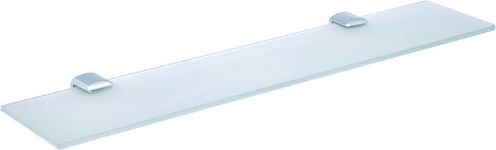 """Полка для ванной комнаты Sofita """"Forsa"""", цвет: хром, 50 х 10 х 0,5 см"""