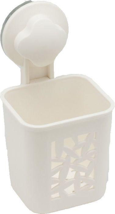 Подстаканник для ванной Grampus, одинарный, цвет: белый. GR-7082 бумагодержатель grampus oceangr 2010