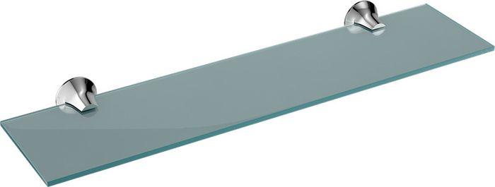 Полка для ванной комнаты Grampus Laguna, цвет: хром полка для ванной комнаты hiba