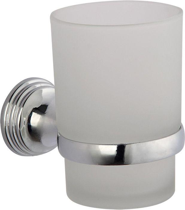 Подстаканник для ванной Grampus Laguna, одинарный, цвет: хром бумагодержатель grampus oceangr 2010