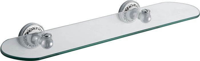 Полка для ванной комнаты Fixsen Bogema, цвет: хром полка для ванной комнаты hiba