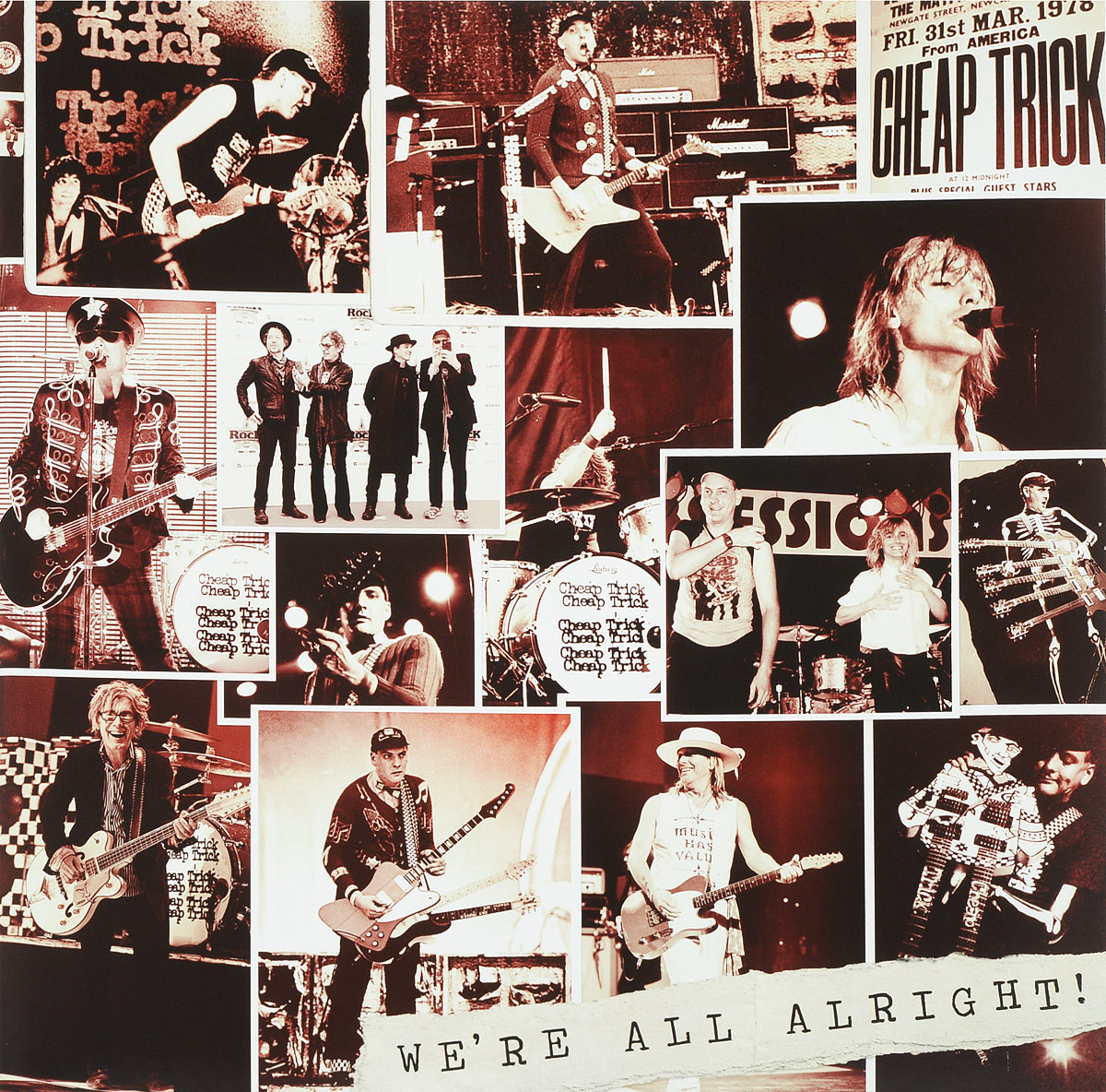 Cheap Trick Cheap Trick. We're All Alright! (LP) trick