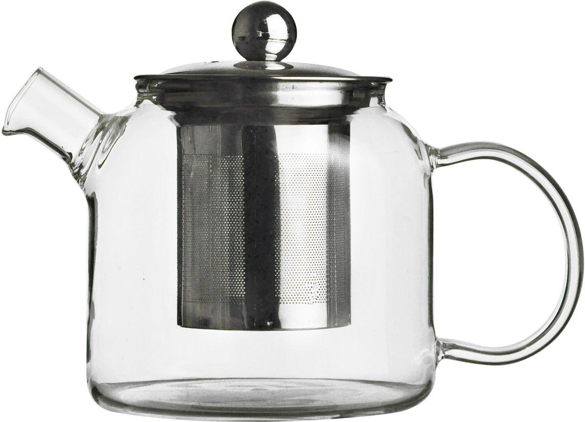 Чайник заварочный Gift'n'Home Teapot - 510, Стекло, Нержавеющая сталь