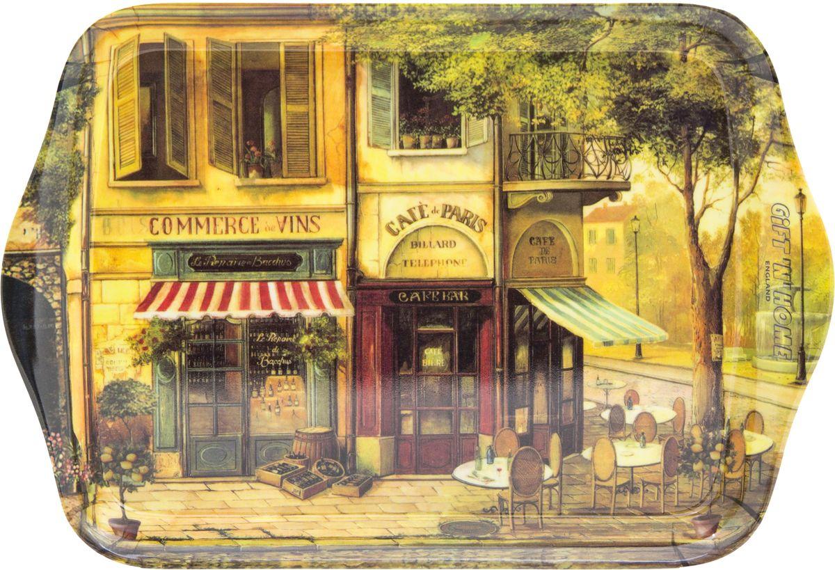 """Поднос сервировочный Gift'n'Home """"Парижское кафе"""", 39 х 24 см"""