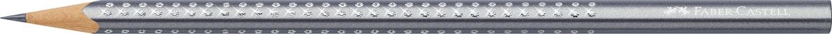 Faber-Castell Карандаш чернографитный Sparkle Metallic цвет корпуса серебристый faber castell карандаш чернографитный grip 2001 твердость 2h