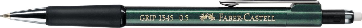 Faber-Castell Карандаш механический Grip 1345 0,5 мм цвет корпуса зеленый faber castell карандаш механический grip matic цвет корпуса красный 137721