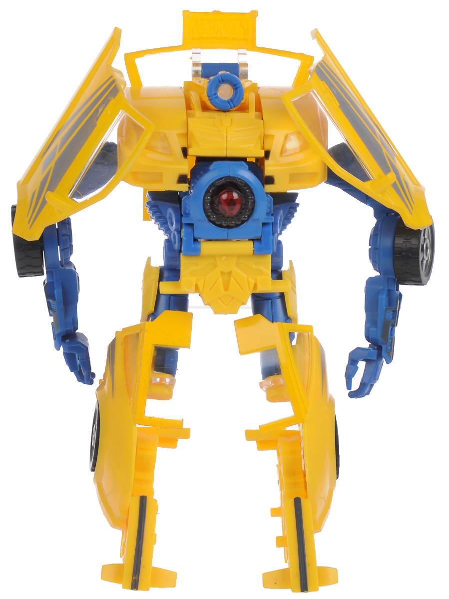 Трансформер D484901_желтый, синий город игр робот трансформер спорткар
