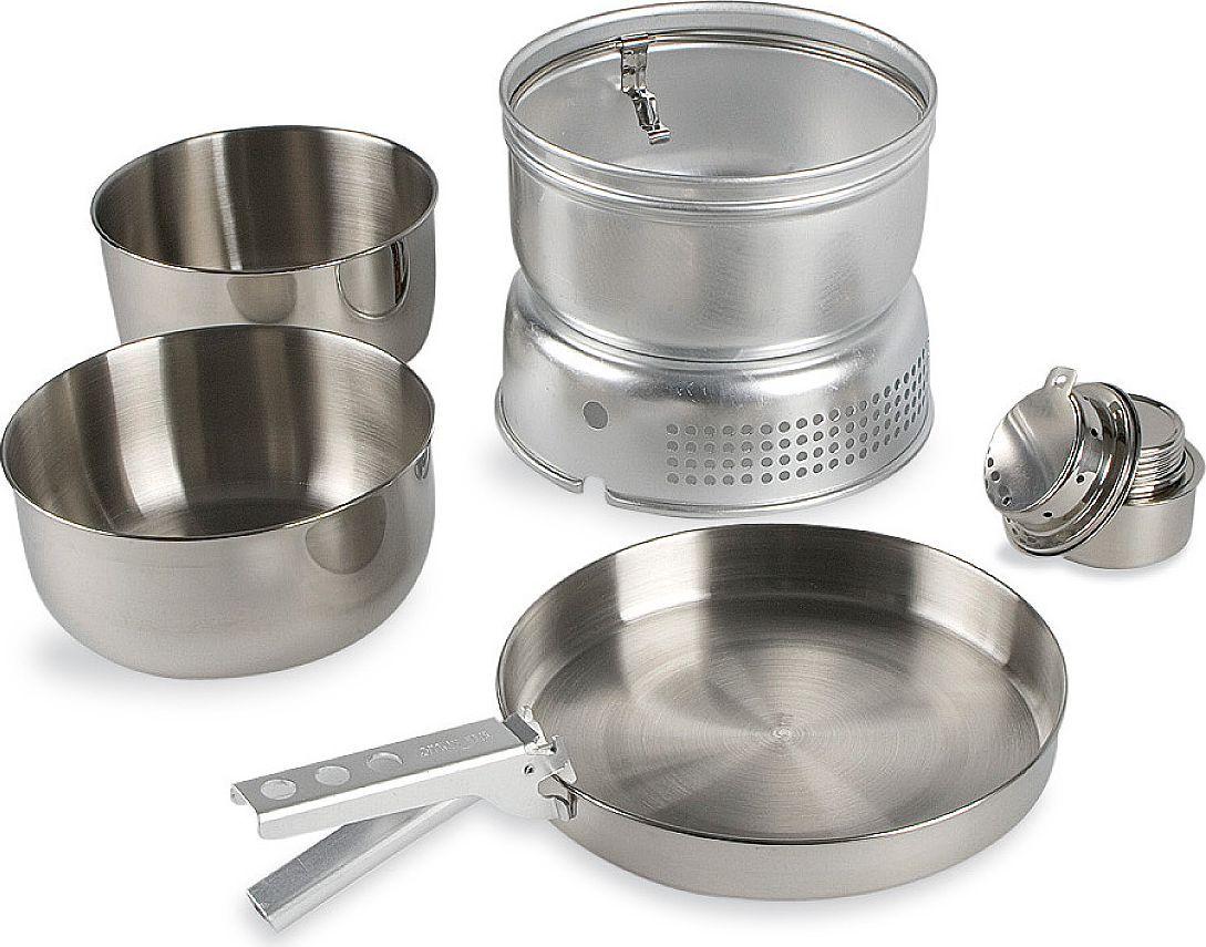 Набор походной посуды Tatonka Multi Set + Alcohol Burner, 6 предметов