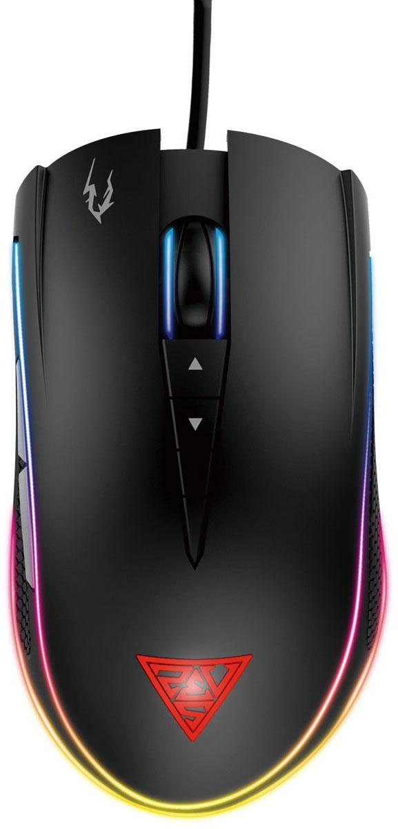 лучшая цена Игровая мышь Gamdias Zeus M1, Black