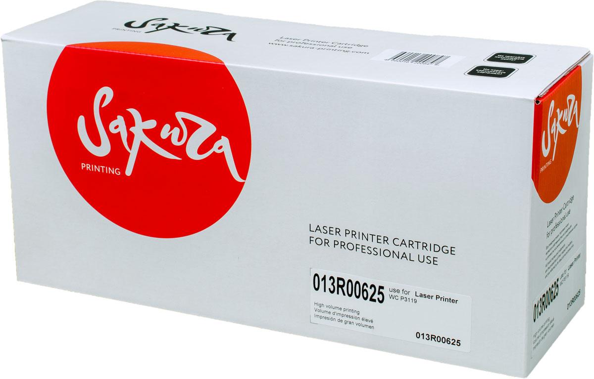 Sakura 013R00625, Black тонер-картридж для Xerox WC 3119