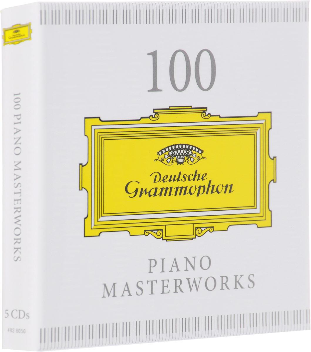 Иоганн Себастьян Бах,Фредерик Шопен,Модест Мусоргский 100 Piano Masterworks (5 CD) фредерик шопен ноктюрн f moll