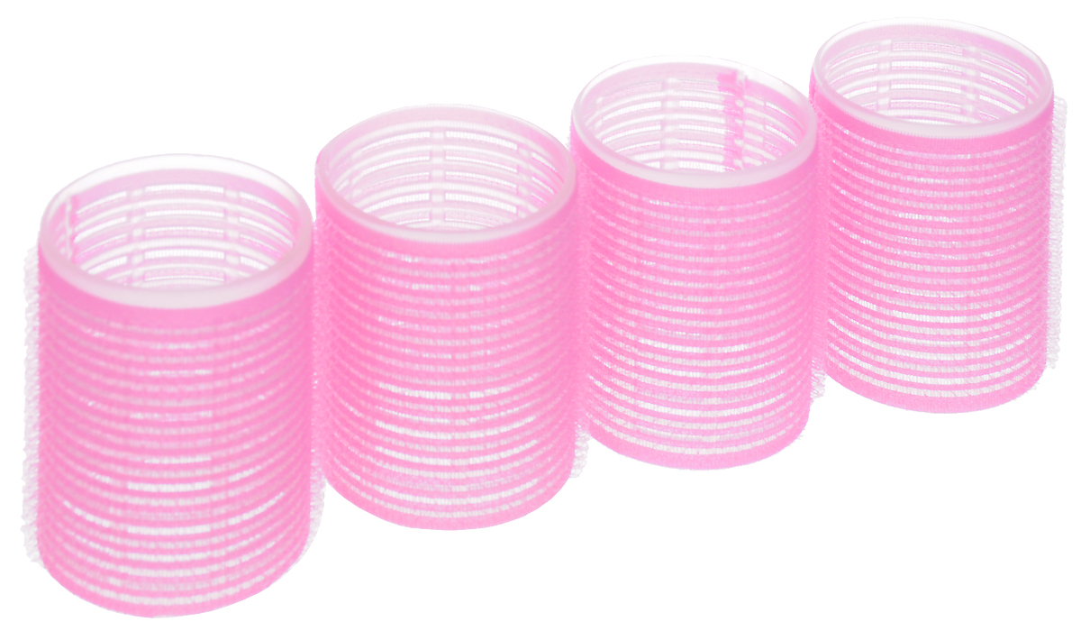 SilvaБигуди самозахватывающие, цвет:  розовый, диаметр 48 мм Silva