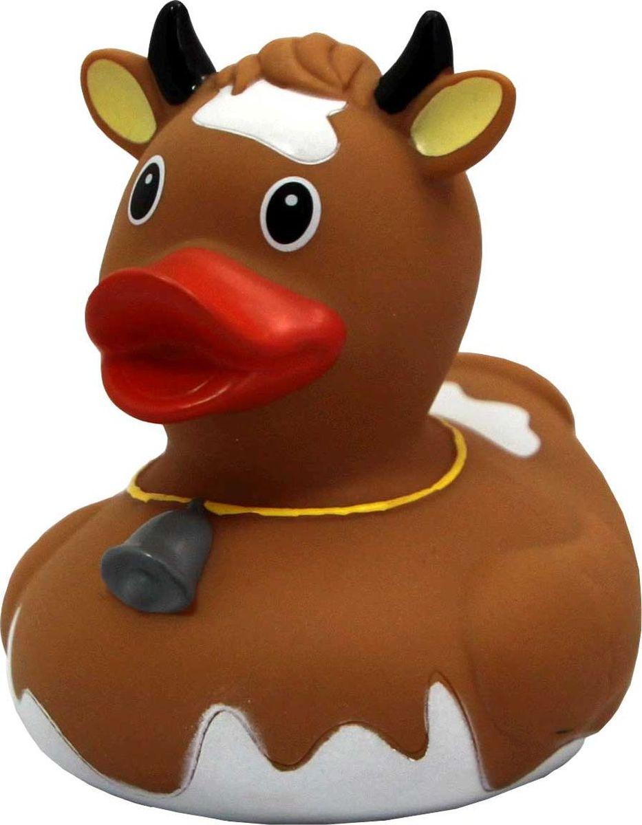 Funny Ducks Игрушка для ванной Уточка Корова цвет коричневый