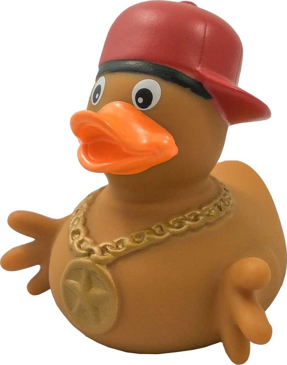 Funny Ducks Игрушка для ванной Уточка Рэпер