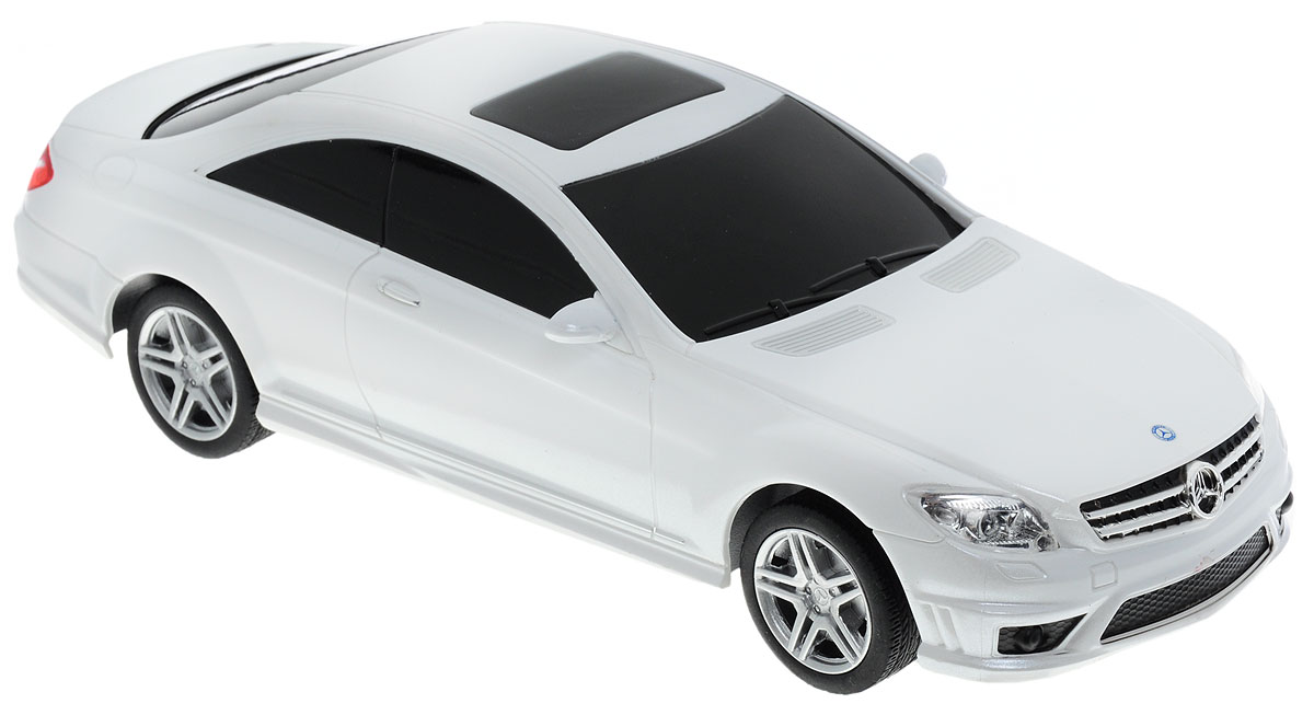 Rastar Радиоуправляемая модель Mercedes-Benz CL 63 AMG цвет белый радиоуправляемая модель rastar mercedes g55 amg масштаб 1 24