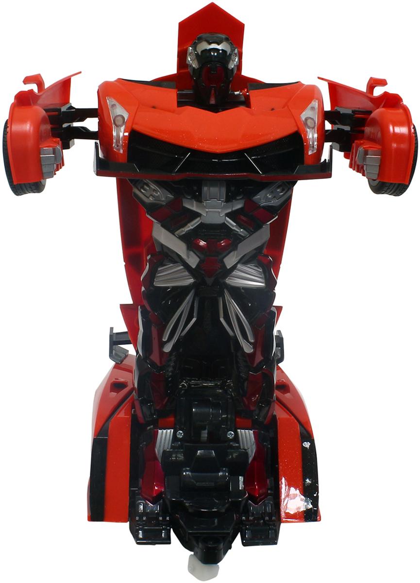 1TOY Робот-трансформер на радиоуправлении Спортивный автомобиль цвет оранжевый коста николетта облако оля и её друзья