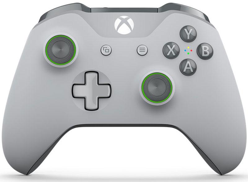 Xbox One Wireless Controller, Grey беспроводной геймпад