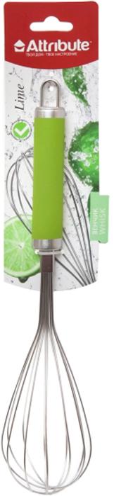 """Венчик Attribute Gadget """"Lime"""", цвет: салатовый"""