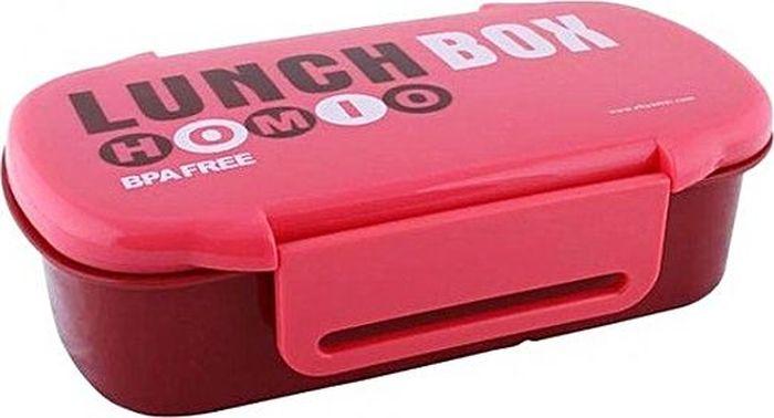 Ланч-бокс Attribute Homio, цвет: красный, бордовый, 740 мл. ATC407 ланч бокс attribute homio цвет красный бордовый 740 мл atc407