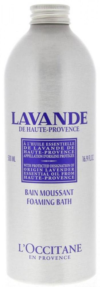 LOccitane Пена для ванн Лаванда, 500 мл451311Пена для ванн LOccitane Лаванда - это лучший способ завершить день, полный забот и стрессов. Насыщенная формула средства образует мягкую ароматную пену, которая дарит неповторимые минуты релаксации и настраивает на безмятежный сон. Бархатистая пена бережно окутает кожу заботой и благоухающим ароматом лаванды. Прованс окружен синими лавандовыми полями, умиротворяющий аромат которых витает в воздухе. Это один из первых цветков, дистиллированных Оливье Боссаном, основателем LOccitane, поэтому многие наши средства имеют этот нежный аромат. Если вы хотите насладиться покоем и безмятежностью, в этом вам поможет наша коллекция мыла, ароматов, средств по уходу за телом и кремов для рук.