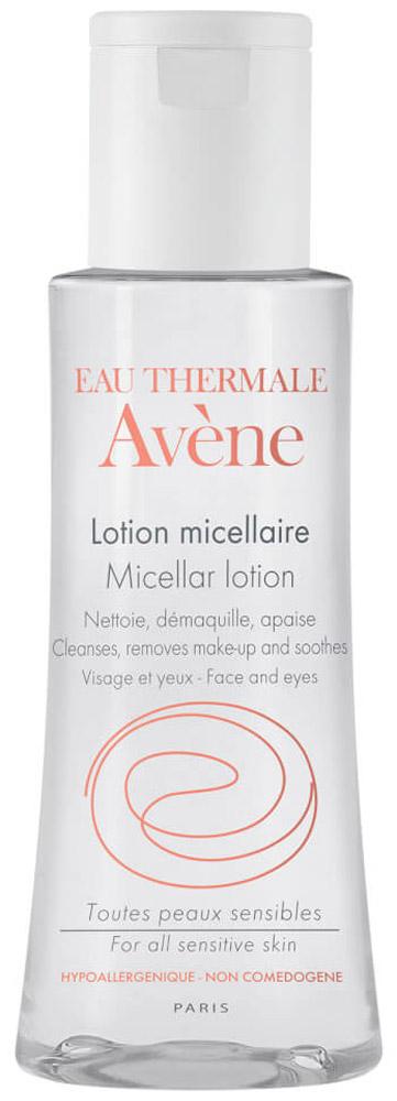 Avene Мицеллярный лосьон для очищения кожи и удаления макияжа, 100 мл цена 2017