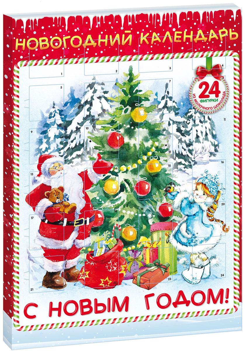 Сладкая Сказка Новогодний календарь Снегурочка, 75 г