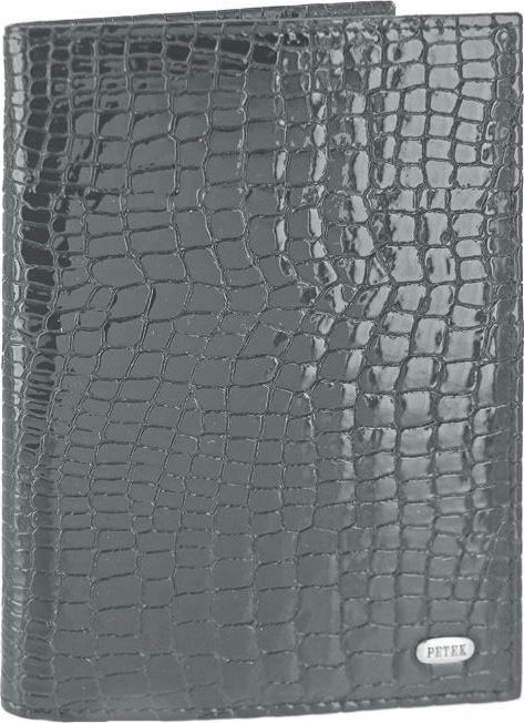 Обложка для паспорта Petek 1855 581.091.26 Antrasit, темно-серый petek pt129 000 01 petek