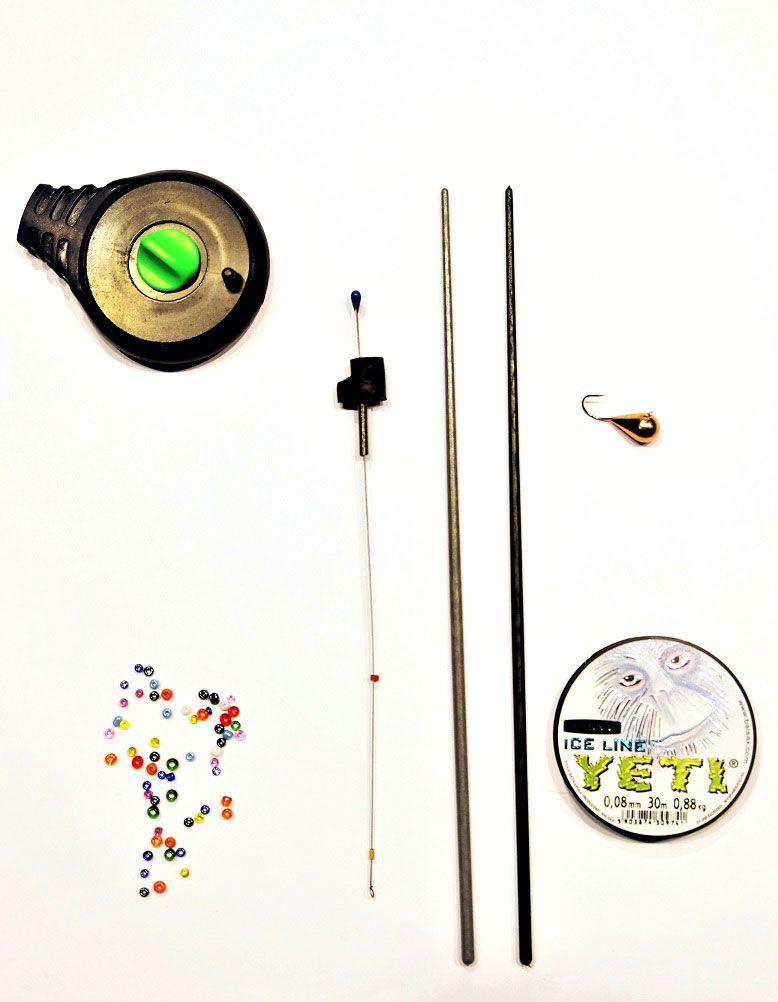 Набор для зимней рыбалки Аляска Безмотылкой набор для летней рыбалки аляска джиг поролон 1 для ловли судака 71 предмет