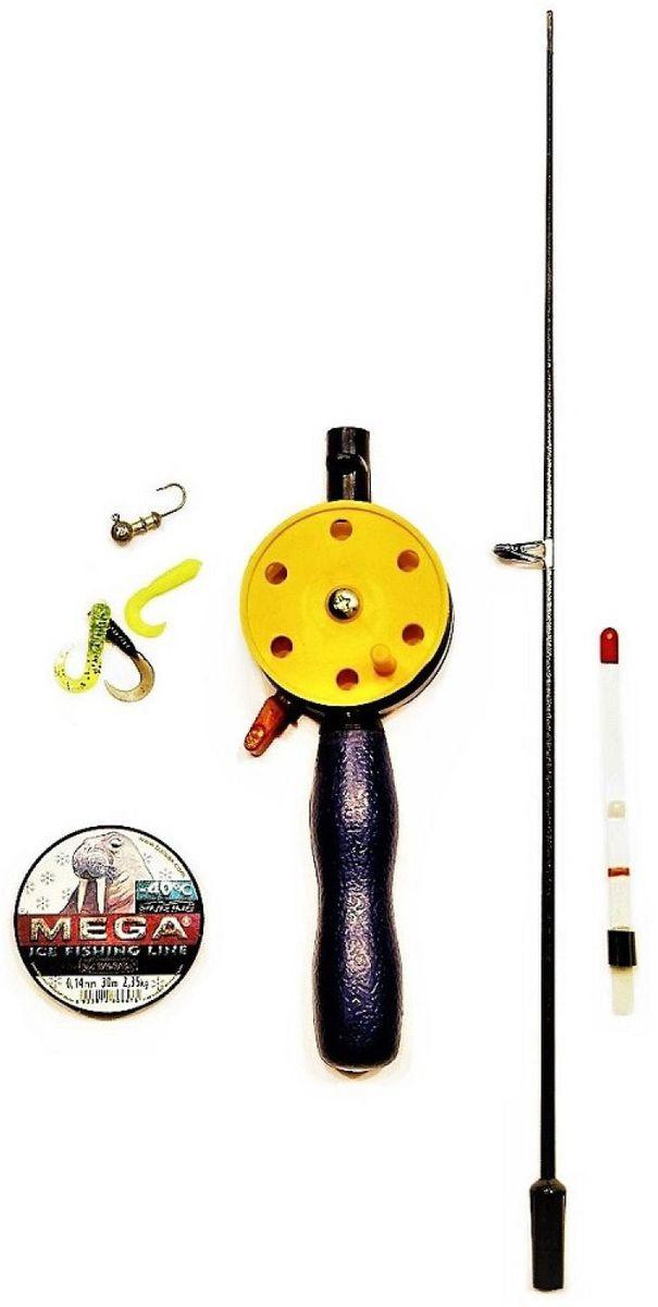 Набор для зимней рыбалки Аляска Твистер, 8 предметов набор для летней рыбалки аляска джиг поролон 1 для ловли судака 71 предмет