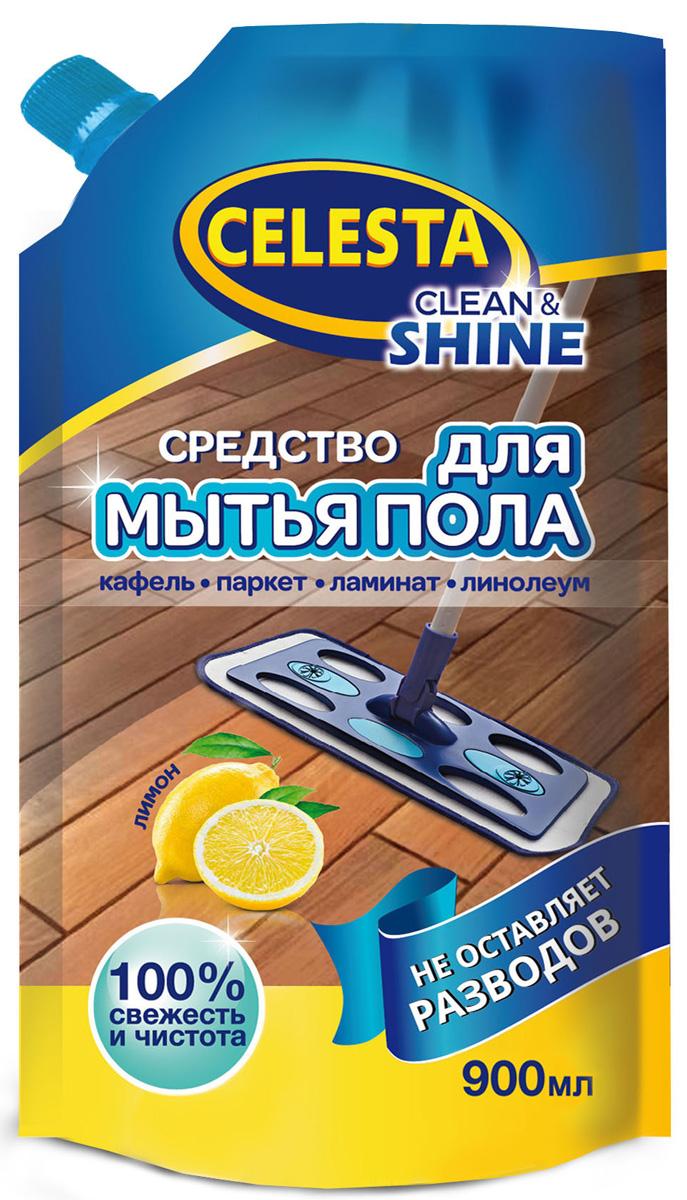 Фото - Средство для мытья пола Celesta, с ароматом лимона, 900 мл материалы для пола