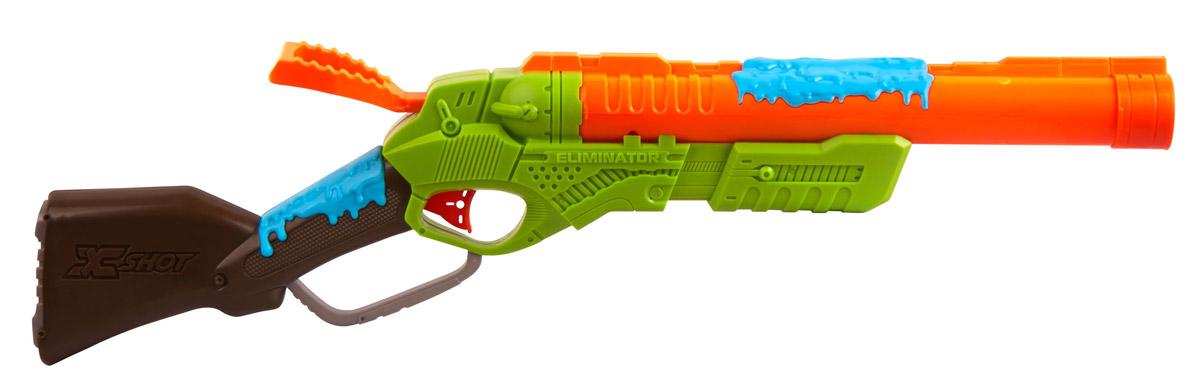 X-Shot Ружье с мишенями Атака пауков игрушечное оружие zuru x shot ружье с мишенями атака пауков