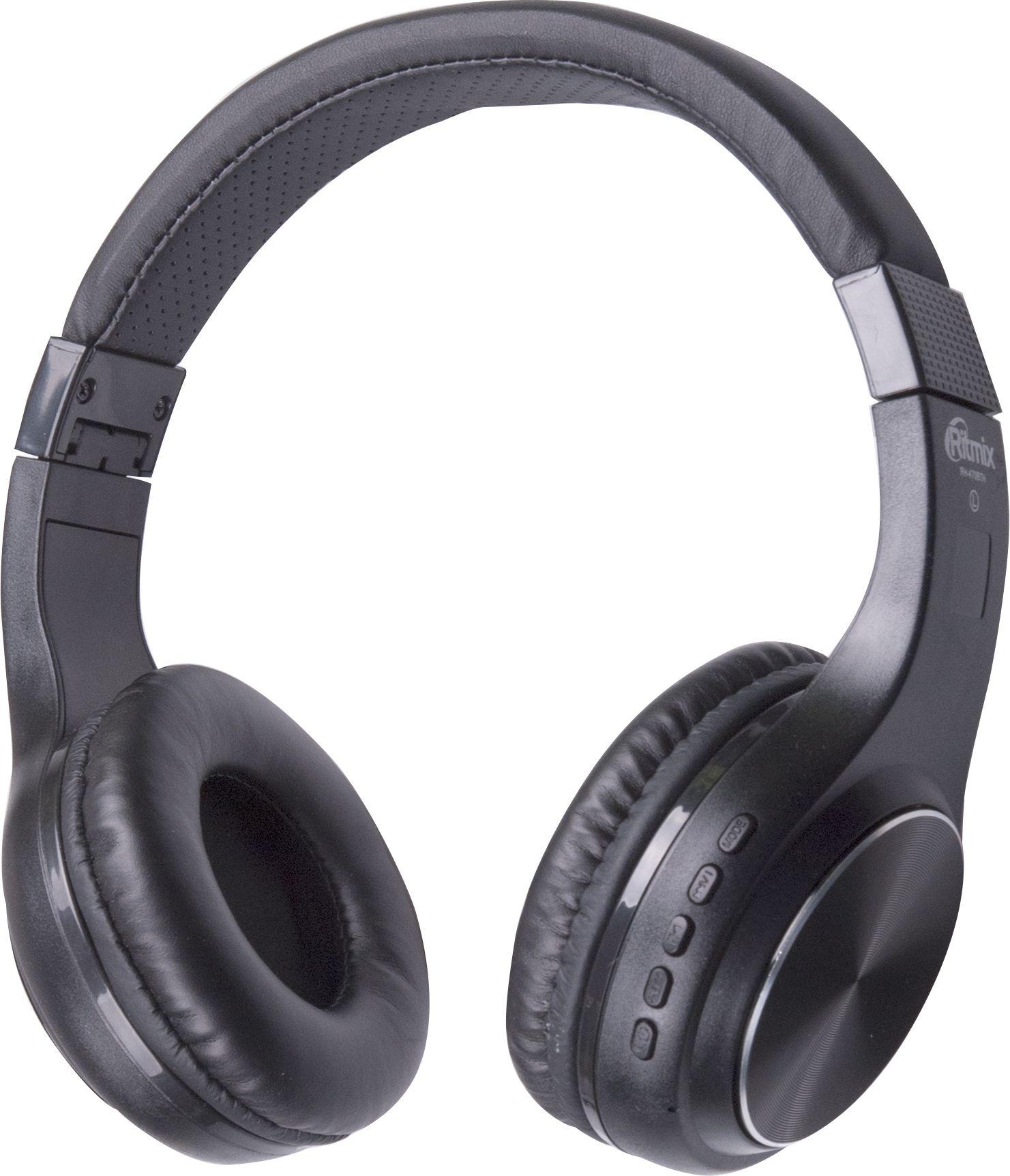 Беспроводные наушники Ritmix RH-470BTH, черный