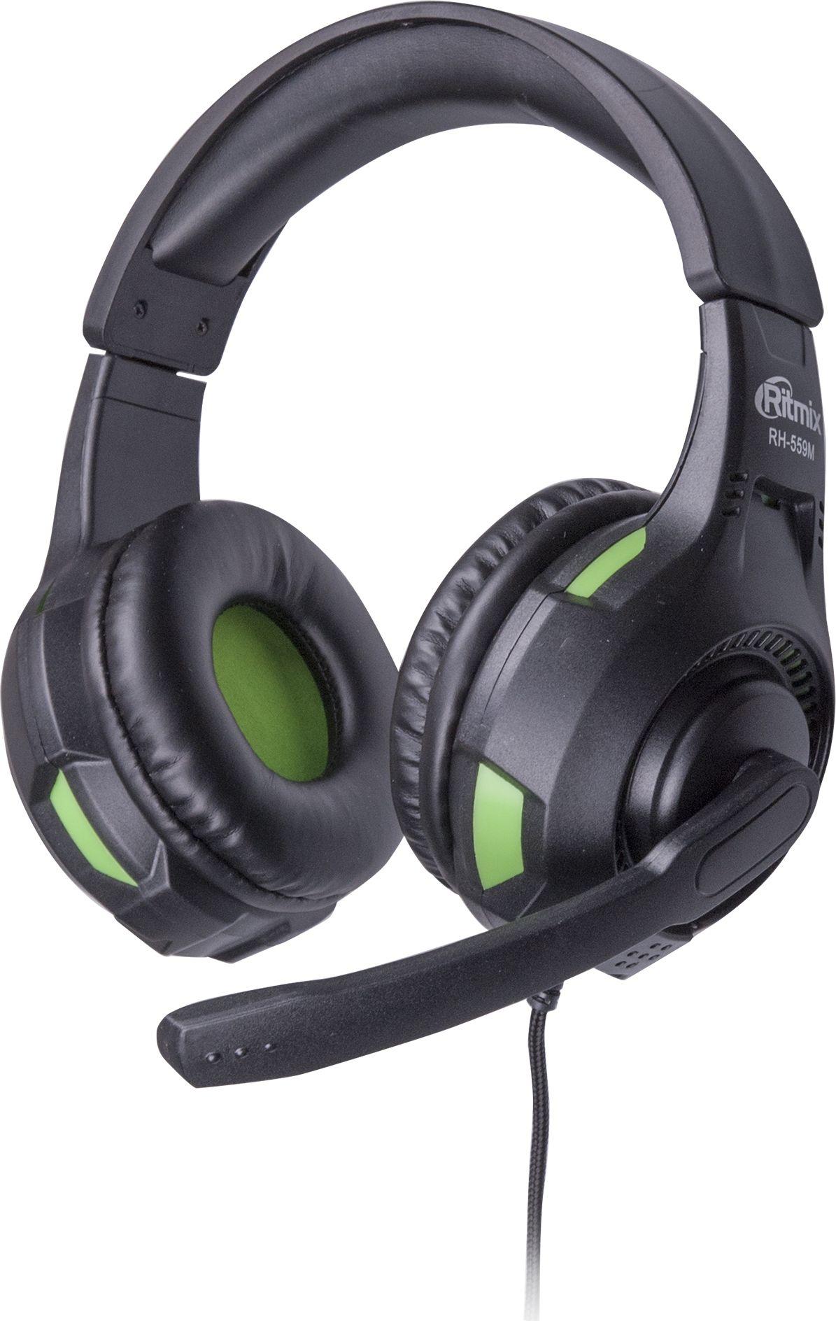 Компьютерная гарнитура Ritmix RH-559M, Gaming цена и фото