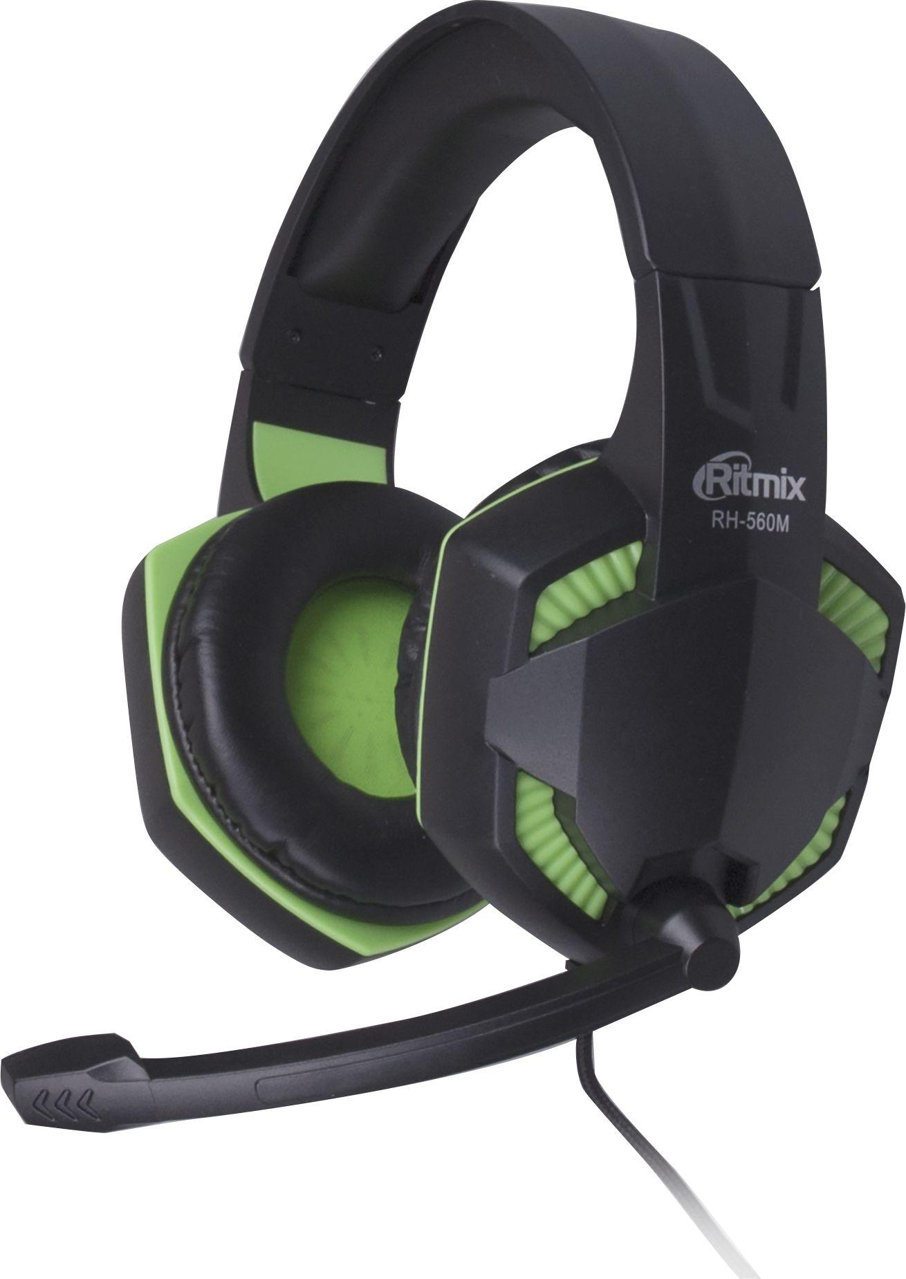 Компьютерная гарнитура Ritmix RH-560M, Gaming цена и фото
