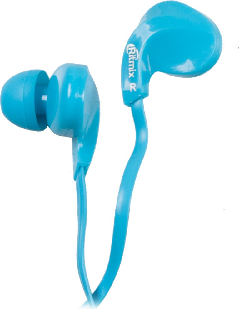 Ritmix RH-025, Blue наушники