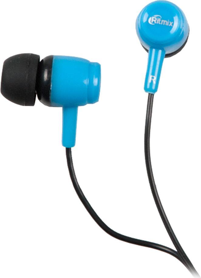 Ritmix RH-020, Black Blue наушники