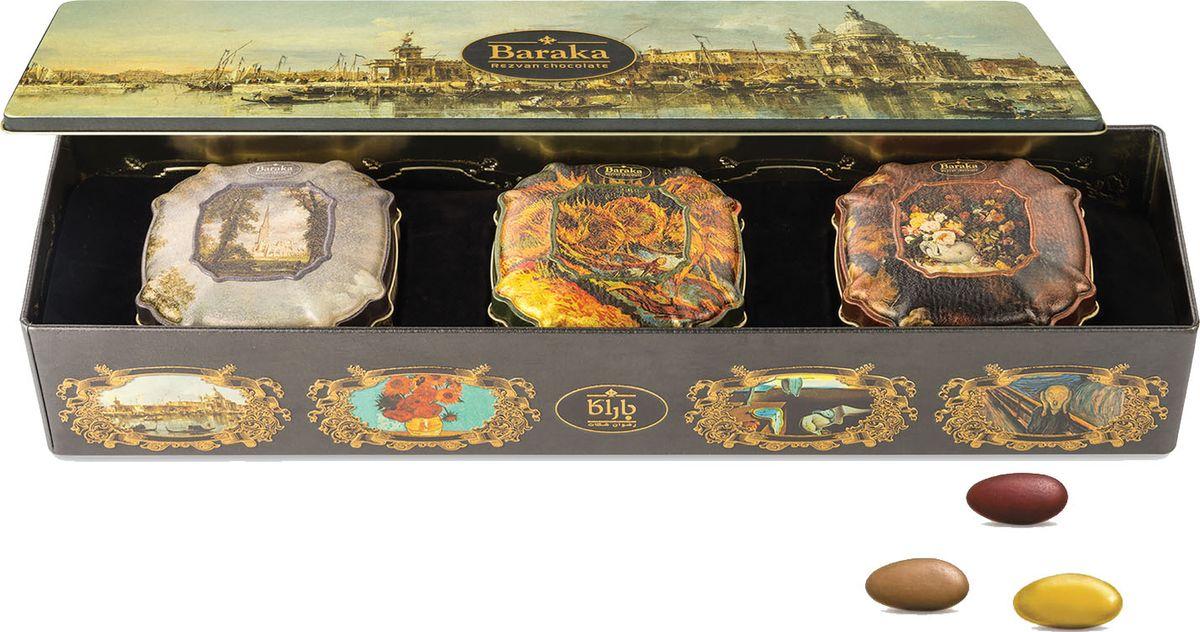 Baraka Венеция набор трюфелей с цельным орехом, 300 г