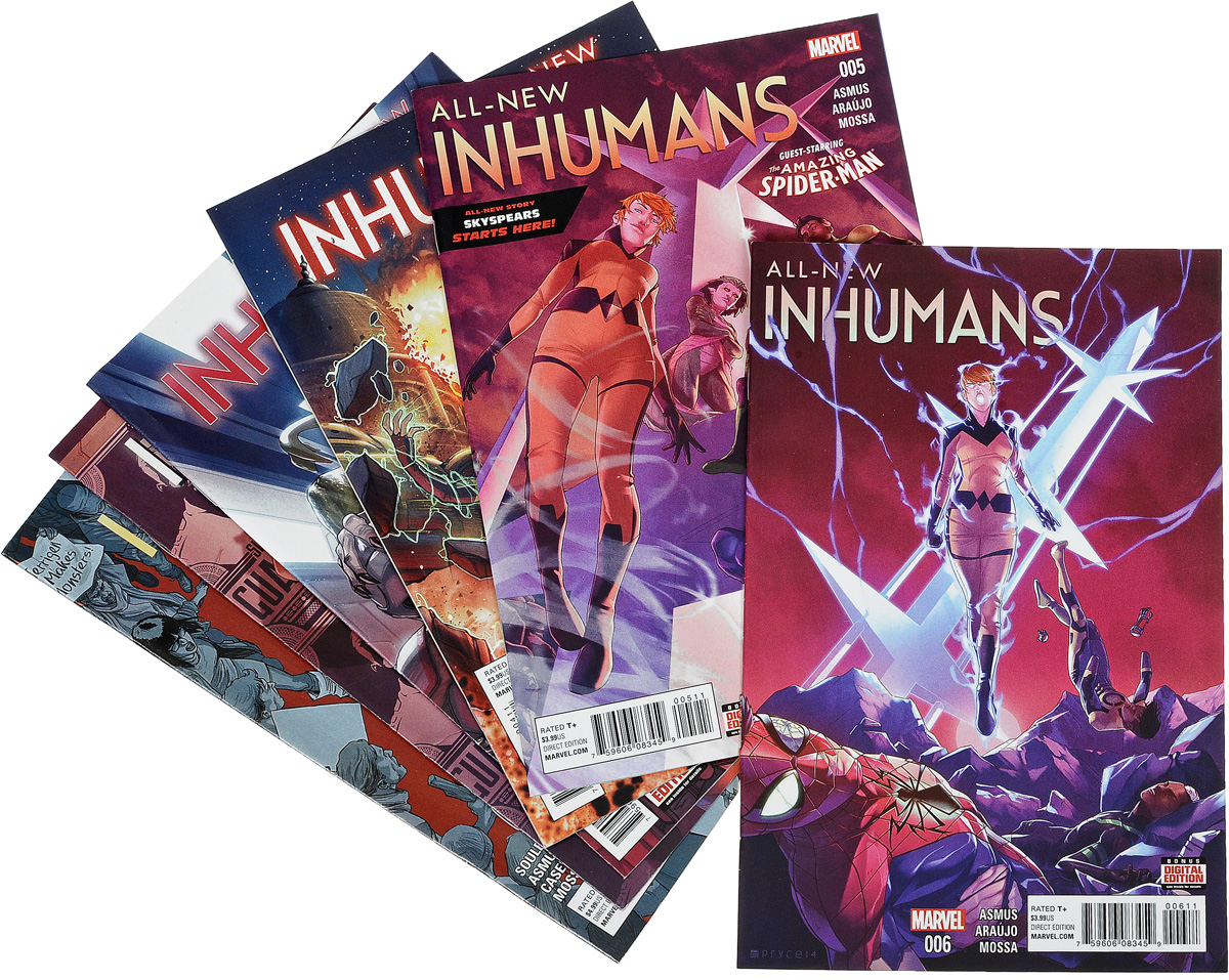 Charles Soule, James Asmus All-New Inhumans (комплект из 6 книг)