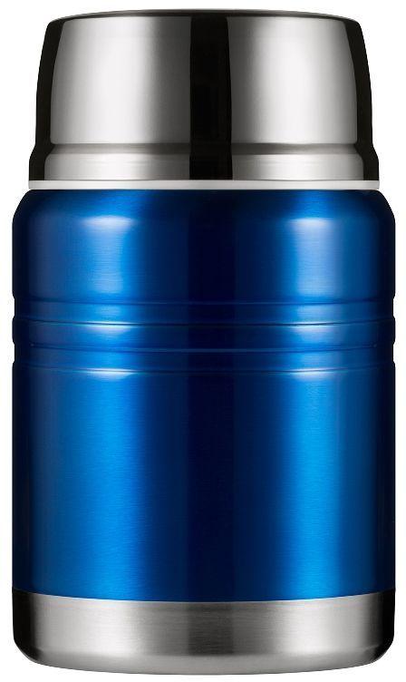 """Термос для еды Woodsurf """"Lunch Spot"""", цвет: синий, 500 мл"""
