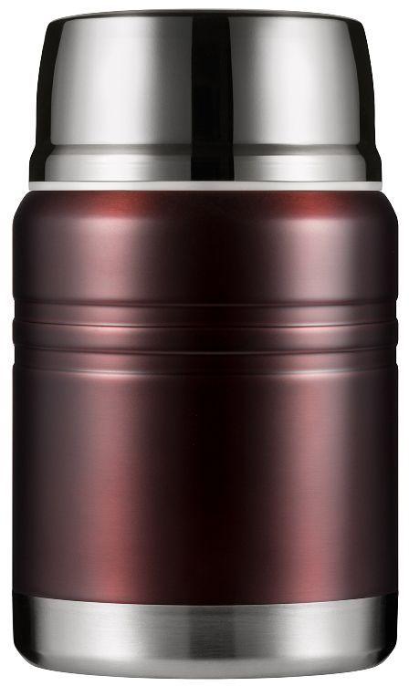 Термос для еды Woodsurf Lunch Spot, цвет: коричневый, 500 мл термостакан woodsurf on the way цвет белый 500 мл
