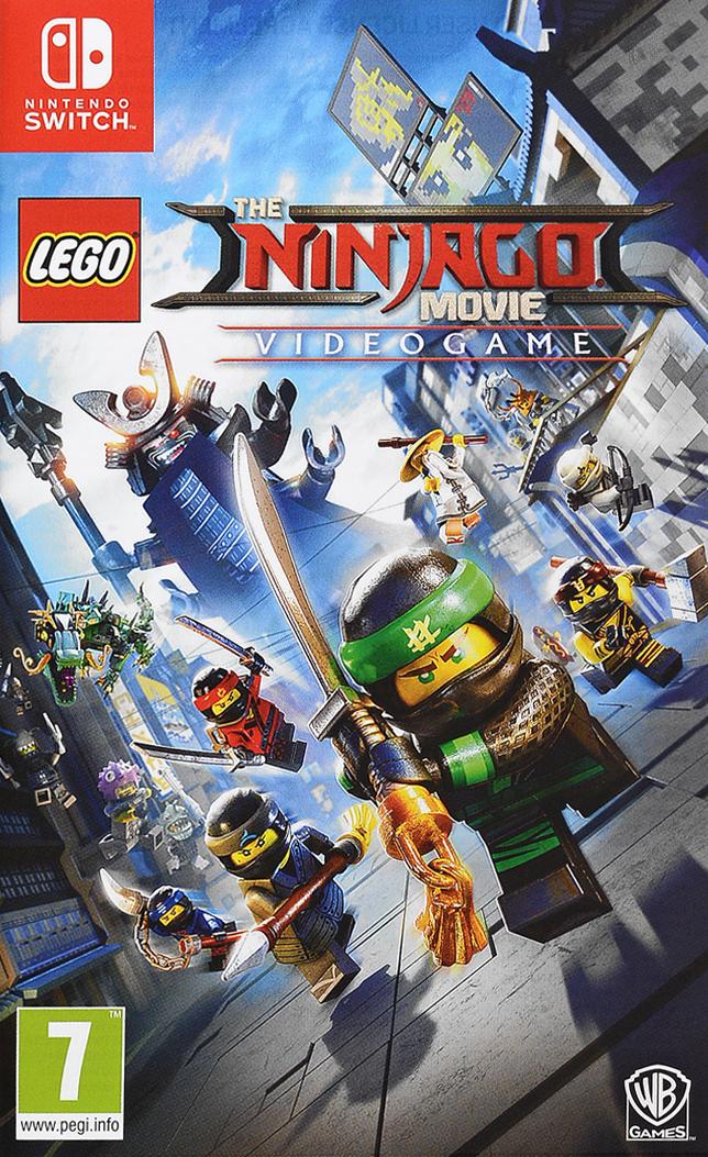 LEGO: Ниндзяго Фильм. Видеоигра (Nintendo Switch)