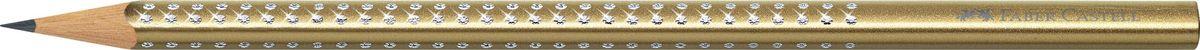 Faber-Castell Карандаш чернографитный Sparkle Metallic цвет золотой faber castell карандаш чернографитный grip 2001 твердость 2h